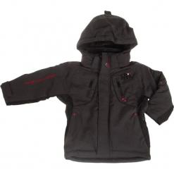 Kurtka narciarska w kolorze ciemnoszarym. Szare kurtki chłopięce marki Peak Mountain. W wyprzedaży za 215,95 zł.