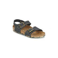 Sandały Dziecko  Birki's  NEW YORK. Czarne sandały dziewczęce Birki's. Za 231,20 zł.