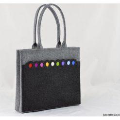 Torebki i plecaki damskie: Torba na ramię z Kolorowymi Kropkami