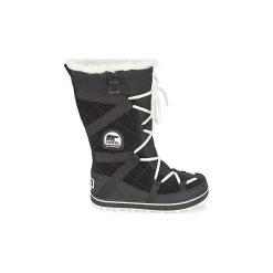 Śniegowce Sorel  GLACY EXPLORER. Czarne buty zimowe damskie Sorel. Za 659,99 zł.