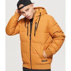 Pikowana kurtka na zimę - Brązowy. Brązowe kurtki męskie pikowane marki LIGNE VERNEY CARRON, m, z bawełny. Za 249,99 zł.