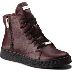 Botki EVA MINGE - Estrada 4K 18SM1372492EF 134. Czerwone buty zimowe damskie marki Eva Minge, ze skóry. Za 459,00 zł.