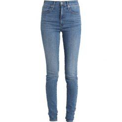Levi's® MILE HIGH SUPER SKINNY Jeans Skinny Fit blue denim. Niebieskie jeansy damskie relaxed fit Levi's®, z bawełny. Za 449,00 zł.