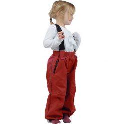 Spodnie niemowlęce: Spodnie funkcyjne w kolorze czerwonym