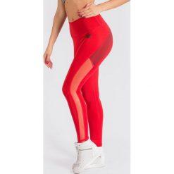 Spodnie dresowe damskie: KARMA Spodnie damskie Leggings Red Energy r. XS (74689)