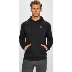 Under Armour - Bluza. Czarne bluzy męskie rozpinane marki Under Armour, l, z bawełny, z kapturem. Za 199,90 zł.