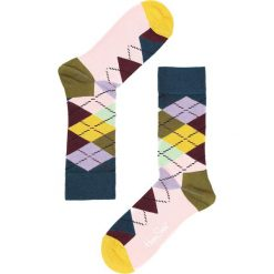Kolorowe Skarpetki Argyle Happy Socks. Czerwone skarpetki damskie marki Born2be. Za 29,99 zł.