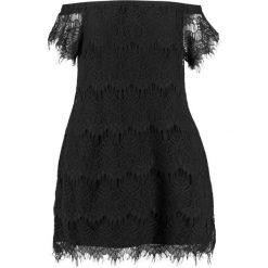 Sukienki: City Chic OFF SHOULDER Sukienka koktajlowa black