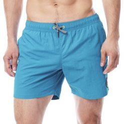 Spodenki i szorty męskie: JOBE Męskie szorty spodenki kąpielowe Swimshorts Kolor jasno-niebieskie M