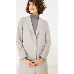 Simple - Bluzka. Szare bluzki z golfem marki Simple, z dzianiny, casualowe. W wyprzedaży za 279,90 zł.