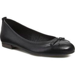 Baleriny TAMARIS - 1-22122-20 Black 001. Czarne baleriny damskie Tamaris, z materiału, na płaskiej podeszwie. W wyprzedaży za 159,00 zł.