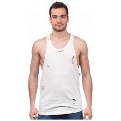 Brave Soul T-Shirt Męski Donal S Biały. Białe t-shirty męskie marki Brave Soul, m. W wyprzedaży za 32,00 zł.