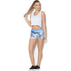 Colour Pleasure Spodnie damskie CP-020 53 niebieskie r. XL/XXL. Fioletowe spodnie sportowe damskie marki Colour pleasure, uniwersalny. Za 72,34 zł.