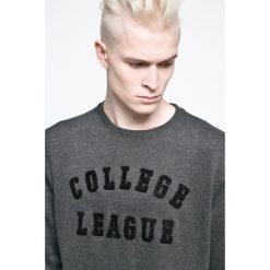 Casual Friday - Bluza. Szare bluzy męskie rozpinane marki Casual Friday, l, z nadrukiem, z bawełny. W wyprzedaży za 69,90 zł.