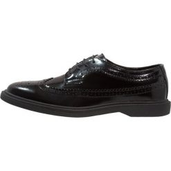 Buty wizytowe męskie: Topman CLAPTON SHOE Eleganckie buty black
