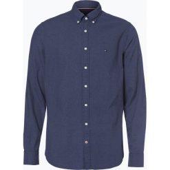 Tommy Hilfiger - Koszula męska, niebieski. Niebieskie koszule męskie na spinki TOMMY HILFIGER, m. Za 449,95 zł.