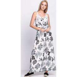 Sukienki: Biało-Czarna Sukienka Custard
