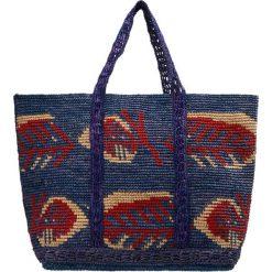 Shopper bag damskie: Vanessa Bruno CABAS MOYEN Torba na zakupy bleu multico