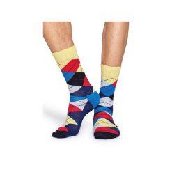 Skarpetki Happy Socks  ARY01-6004. Szare skarpetki męskie Happy Socks, z bawełny. Za 24,43 zł.