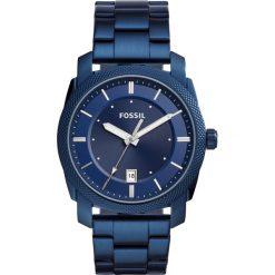 Zegarek FOSSIL - Machine FS5231 Blue/Blue. Różowe zegarki męskie marki Fossil, szklane. W wyprzedaży za 449,00 zł.