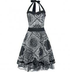 Innocent Bandana Dress Sukienka czarny/biały. Niebieskie sukienki na komunię marki Innocent, xl, w ażurowe wzory, z materiału, z dekoltem na plecach. Za 164,90 zł.