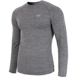 4f Koszulka męska longsleeve H4L18-TSMLF002 r. S/M. Szare koszulki sportowe męskie marki 4f, l. Za 119,00 zł.