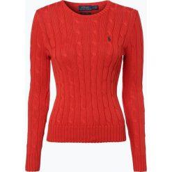 Swetry klasyczne damskie: Polo Ralph Lauren – Sweter damski, czerwony