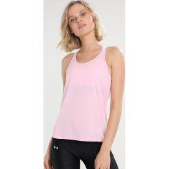 Salomon ELEVATE FLOW TANK  Koszulka sportowa pink mist. Czerwone t-shirty damskie Salomon, xl, z materiału. Za 169,00 zł.