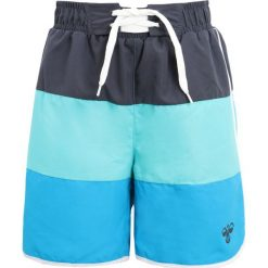 Hummel TOM SWIMPANTS Szorty kąpielowe hawaiian surf. Niebieskie kąpielówki chłopięce marki Hummel, z materiału. Za 189,00 zł.