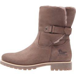 Panama Jack FELIA IGLOO Botki gris. Szare buty zimowe damskie Panama Jack, z materiału. W wyprzedaży za 703,20 zł.
