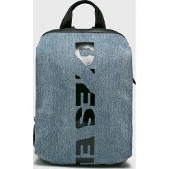 Diesel - Plecak. Szare plecaki męskie Diesel, z poliesteru. W wyprzedaży za 699,90 zł.