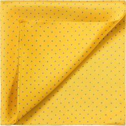 Poszetka 83-7P-100-X4. Żółte poszetki męskie Wittchen, eleganckie. Za 49,00 zł.