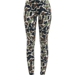 Spodnie damskie: Adidas Tight Legginsy kamuflaż