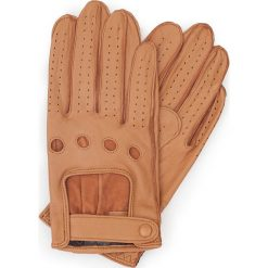Rękawiczki męskie 46-6L-386-LB. Pomarańczowe rękawiczki męskie marki Wittchen. Za 99,00 zł.