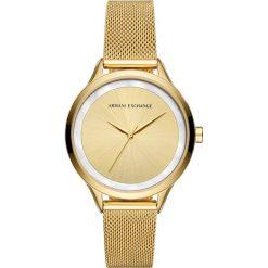 Armani Exchange Zegarek goldcoloured. Żółte, analogowe zegarki damskie Armani Exchange. Za 799,00 zł.