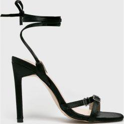 Public Desire - Sandały. Czerwone sandały damskie marki Born2be, na wysokim obcasie, na szpilce. W wyprzedaży za 119,90 zł.