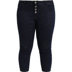 Boyfriendy damskie: ADIA PISA BUTTONS  Jeans Skinny Fit blue dark