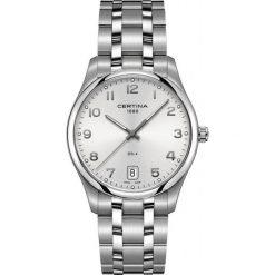 PROMOCJA ZEGAREK CERTINA DS 4 Big Size C022.610.11.032.00. Szare zegarki męskie CERTINA, ze stali. W wyprzedaży za 1381,60 zł.