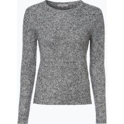 Swetry klasyczne damskie: Apriori - Sweter damski z dodatkiem lnu, szary