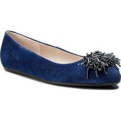 Baleriny GINO ROSSI - Marisa DAH860-282-4900-5700-0 59. Niebieskie baleriny damskie zamszowe marki Gino Rossi. W wyprzedaży za 179,00 zł.
