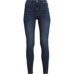 Topshop Tall LEIGH Jeans Skinny Fit midnight. Niebieskie boyfriendy damskie Topshop Tall. Za 219,00 zł.