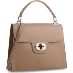 Torebka CREOLE - K10537  Beżowy. Brązowe torebki klasyczne damskie Creole, ze skóry. W wyprzedaży za 209,00 zł.