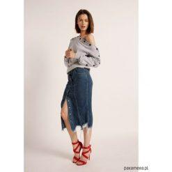 Spódnica Fire Skirt. Czarne spódniczki jeansowe Pakamera, ołówkowe. Za 490,00 zł.