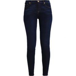 7 for all mankind Jeans Skinny Fit bare rinsed indigo. Niebieskie rurki damskie 7 for all mankind, z bawełny. Za 799,00 zł.