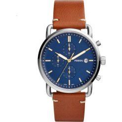 Zegarek FOSSIL - The Commuter Chrono FS5401 Brown/Silver. Różowe zegarki męskie marki Fossil, szklane. Za 545,00 zł.