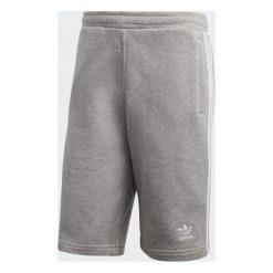 Adidas Spodenki męskie Originals 3 Stripes Short szare r. XL (CY4570). Białe spodenki sportowe męskie marki Adidas, l, z jersey, do piłki nożnej. Za 172,09 zł.