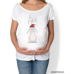Bluzki ciążowe: koszulka damska, ciążowa z zajączkiem