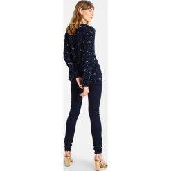 Bluzki asymetryczne: White Stuff BROOK PRINT Bluzka dark blue