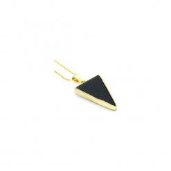 Naszyjnik Noc Kairu trójkąt złoto. Niebieskie naszyjniki damskie Brazi druse jewelry, na co dzień, pozłacane. Za 170,00 zł.