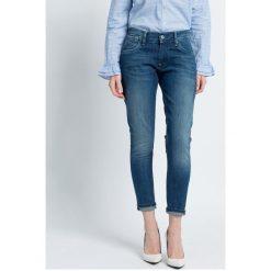 Pepe Jeans - Jeansy. Niebieskie jeansy damskie Pepe Jeans. W wyprzedaży za 229,90 zł.